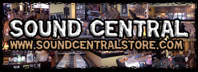 Sound Central Record Shop in Montreal and online