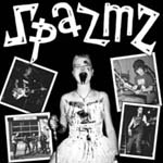"Buy the SPAZMZ s/t 7"" at the WOUNDED PAW RECORD SHOP"